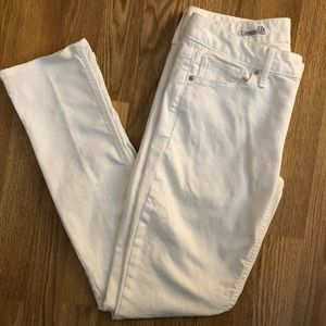 Gap 1969 White Always Skinny Jeans